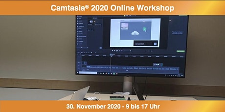 Camtasia 2020 Online Workshop Tickets