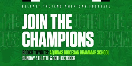 Belfast Trojans Rookie Tryouts - Day 2 tickets