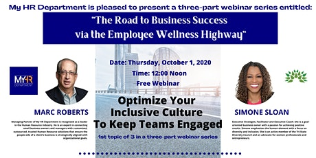The Road to Business Success via the Employee Wellness Highway- PART 1 tickets