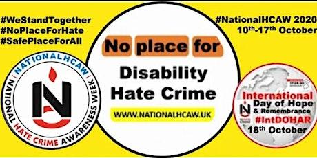 National Hate Crime Awareness Week: Disability Hate Crime Webinar tickets