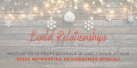 IWant2Network - Speed 60 Online Networking Christmas Special tickets