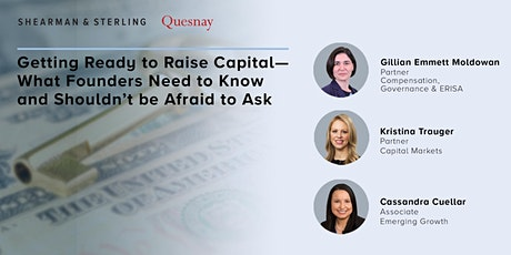 Getting Ready to Raise Capital tickets