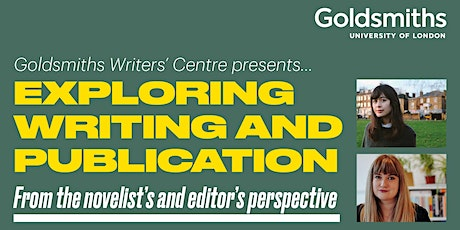 Exploring writing & publication from the novelist's & editor's perspective tickets