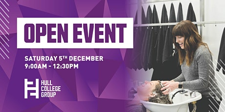 Hull College Open Event - 5th Dec tickets