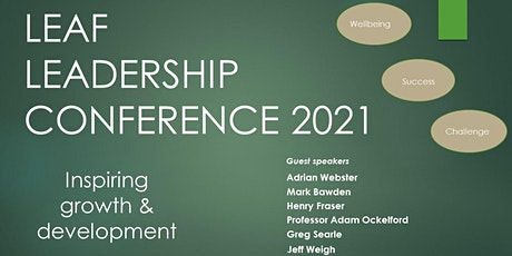 LEAF Leadership Conference 2021- Inspiring growth & development tickets