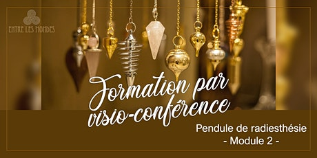 J'apprends le Pendule - Module 2, Formation par visio-conférence billets