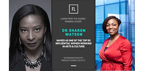 In Conversation With Dr Sharon Watson, Top 50 Influential Women In Culture tickets
