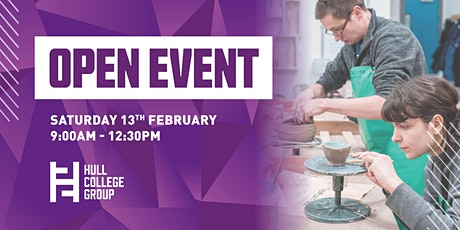 Hull College Open Event - 13th Feb tickets