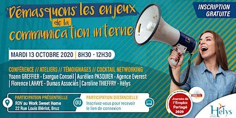 """""""Démasquons"""" les enjeux de la communication interne ! billets"""