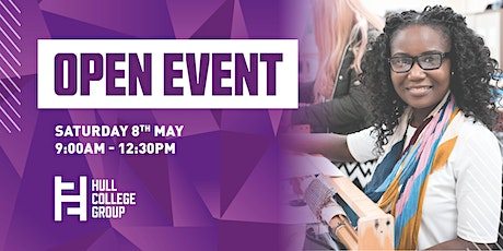 Hull College Open Event - 8th May tickets
