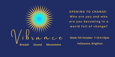 Breath, Sound and Movement: Opening to Change tickets