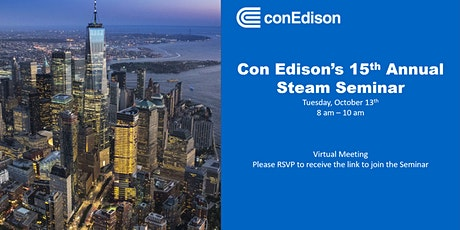 Con Edison's Annual Steam Fall Seminar tickets