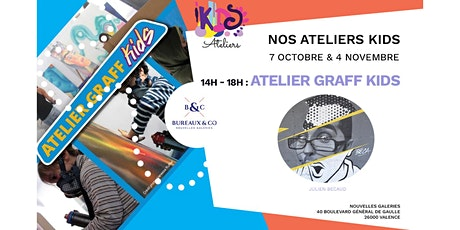 Atelier graff Kids octobre 2020 billets