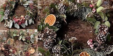 Christmas Wild Wreath Making Workshop tickets