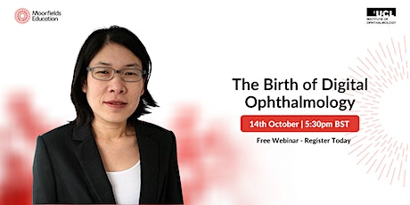 The Birth of Digital Ophthalmology tickets