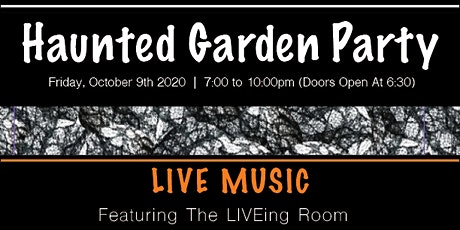 Haunted Garden Party tickets