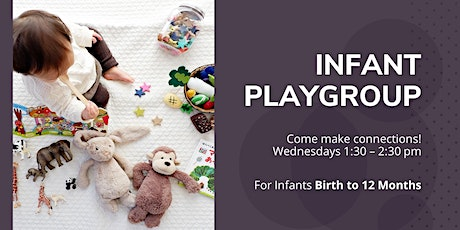 Indoor Infant Playgroup - Wednesday October 28th, 1:30-2:30 pm tickets