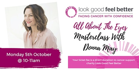 'All About The Eyes' - Intimate Masterclass with Donna May tickets
