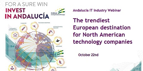 Webinar - Andalucia ICT Industry tickets