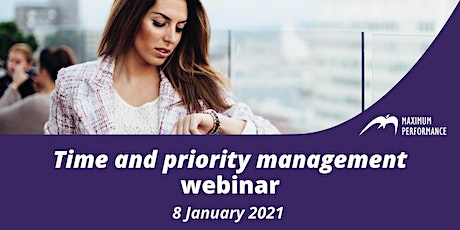 Time and priority management (8 January 2021)