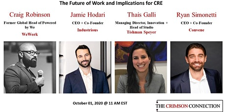The Future of Work and the Implications for CRE tickets