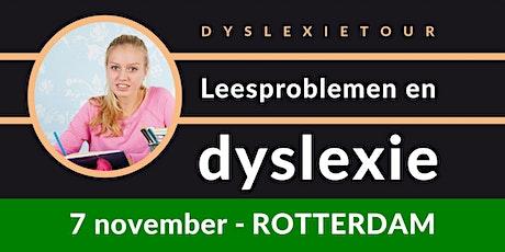 Dyslexietour Rotterdam tickets