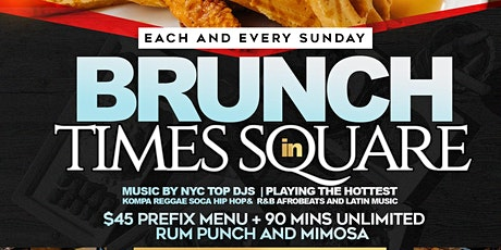 CARIBBEAN BRUNCH SUNDAYS AT SOHO PARK HOSTED BY #TEAMINNO tickets