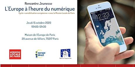 L'Europe à l'heure du numérique ! billets