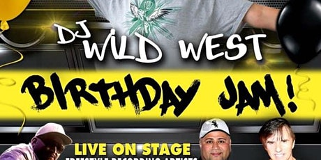DJ WILD WEST BIRTHDAY BASH tickets