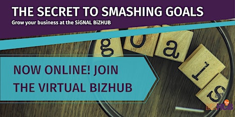 THE SECRET TO SMASHING GOALS! tickets