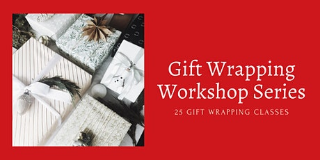 25 Days of Gift Wrapping Ideas and Techniques - Virtual Craft Class Series tickets