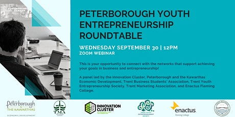 Peterborough Youth Entrepreneurship Roundtable tickets