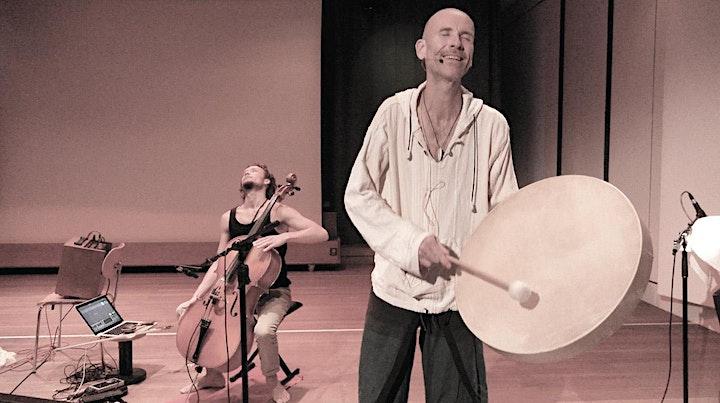 Klang Heil Raum - intuitive medicine music mit Mitsch Kohn & Sascha Vaymer: Bild
