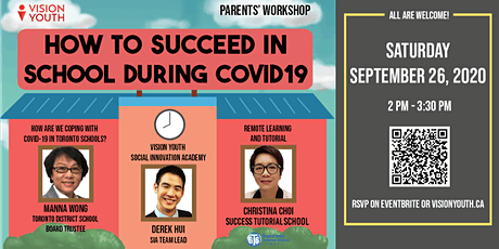 Parents' Workshop: How to Succeed in School During Covid19 tickets
