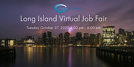 Long Island Virtual Job Fair Tuesday Oct 27, 2020 4pm - 6pm tickets