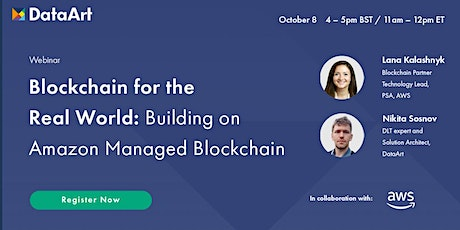 Blockchain for the Real World: Building on Amazon Managed Blockchain tickets