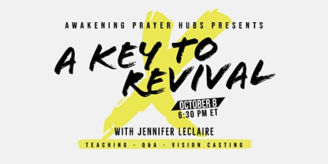 A Key to Revival in Your City: Teaching + Q&A tickets