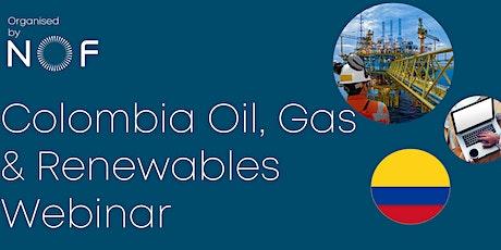 Colombia Oil, Gas & Renewables Webinar tickets