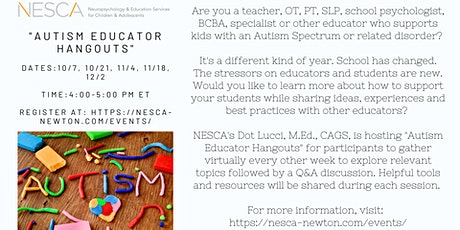 Autism Educator Hangout tickets