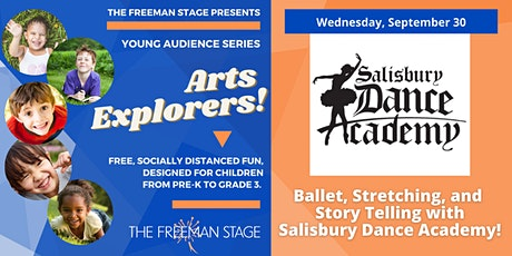 Ballet, Stretching, and Story Telling with Salisbury Dance Academy tickets
