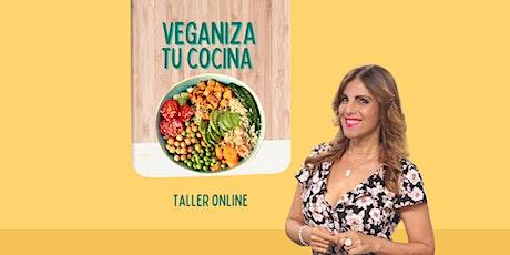Veganiza tu cocina con La Veganista PR boletos