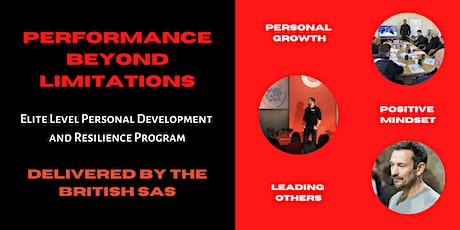 Performance Beyond Limitations : With the British SAS tickets