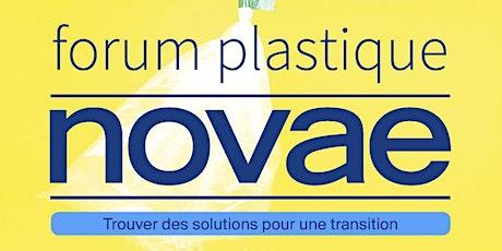 Semaine Novae des solutions plastiques (Forum Plastique - Novae 2020) billets