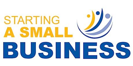 Starting A Small Business Webinar - November 3rd, 2020 tickets