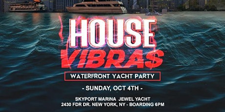 EDM NYC YACHT PARTY®!! SUNDAY, OCT. 4th tickets