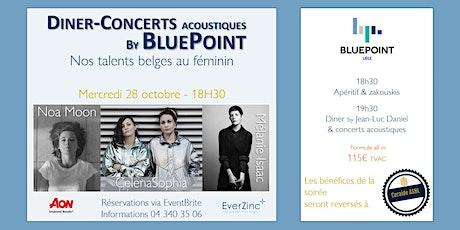 Dîner-Concerts acoustiques by BluePoint - Nos talents belges au féminin billets