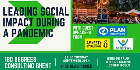 180DC Ghent Presents: Leading Social Impact During a Pandemic tickets