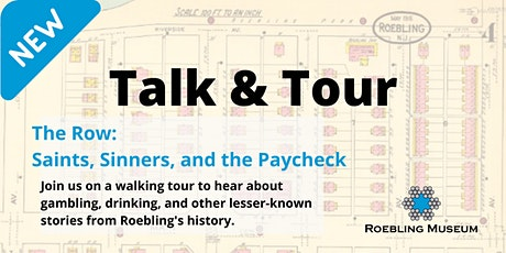 RESCHEDULED Talk and Tour: the Row tickets