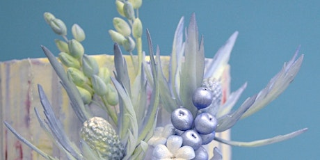 ONLINE CLASS - Sea Holly & Berries in Sugar tickets