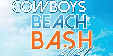 Cowboys Beach Bash 2021 tickets